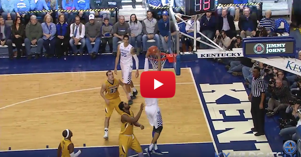 Kentucky wins third straight in rout of Mizzou