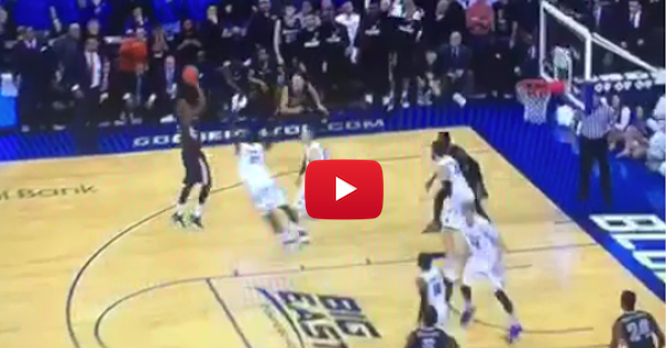 College basketball's best guard hit a great buzzer-beater