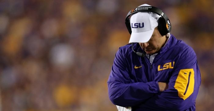 This quote from Les Miles shows he's hopelessly out of touch