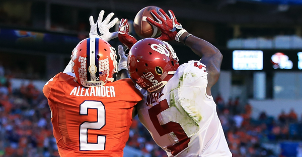 Mackensie Alexander does not have nice words for Calvin Ridley