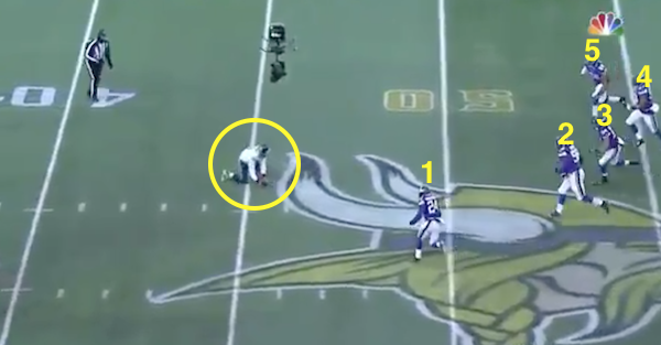 Here's the play by Russell Wilson and the Seahawks that broke the Vikings