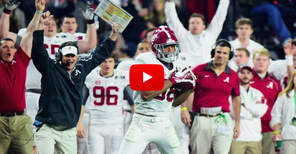 Lane Kiffin signaled a touchdown before this 53-yard score was even thrown