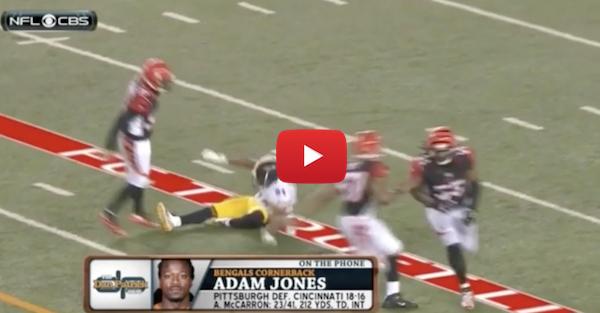 Pacman Jones accuses Antonio Brown of faking his injury ahead of Steelers' game-winning field goal