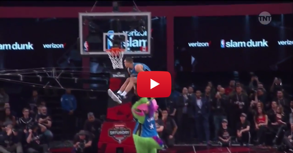 Zach LaVine and Aaron Gordon put on a dunk show for the ages