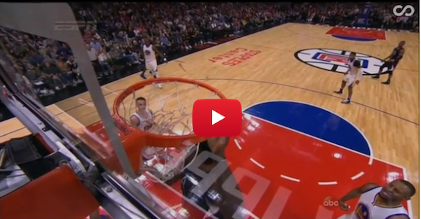 DeAndre Jordan actually messed up a rim he dunked so hard
