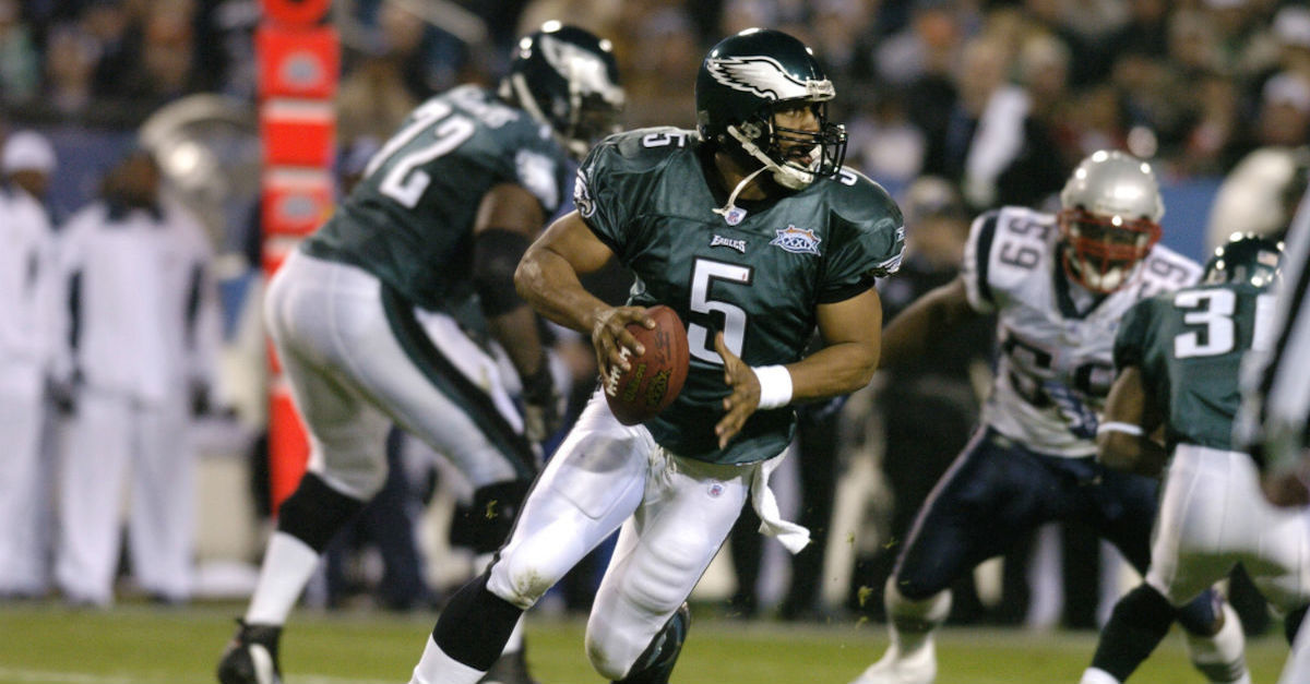 Did Donovan McNabb puke in the Super Bowl? The QB addresses the rumor