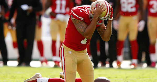 Colin Kaepernick reportedly now only has himself to blame for not getting signed