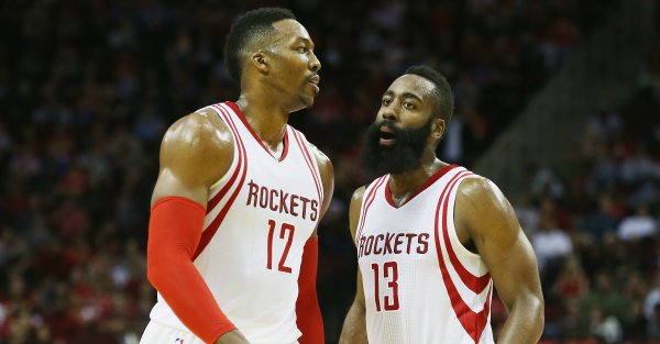 Harden and Howard reportedly hated each other so much they tried this in 2013