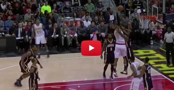 Al Horford drops the hammer on Solomon Hill