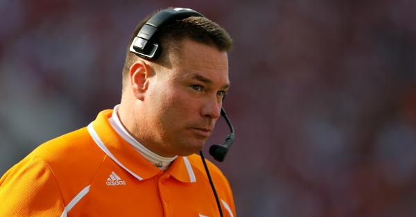 Butch Jones doesn't think Tennessee has a 'culture problem'