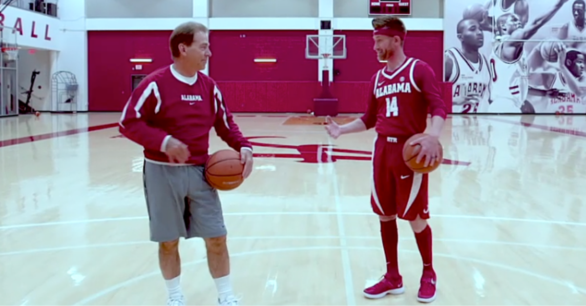 Nick Saban Basketball