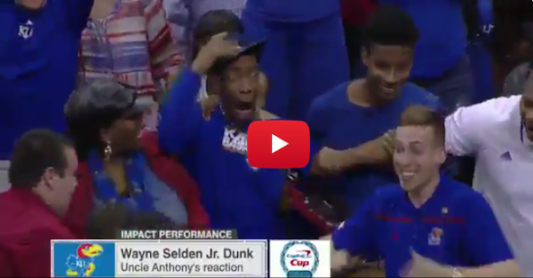 Wayne Selden might have the best dunk reaction of all-time