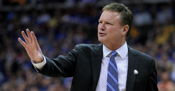 Bill Self does not like getting picked by the President to win