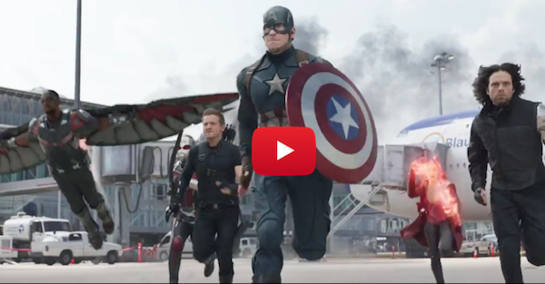 The new Captain America trailer features the one hero we've been waiting to see