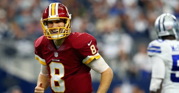Three teams reportedly emerge as suitors for soon-to-be free agent QB Kirk Cousins
