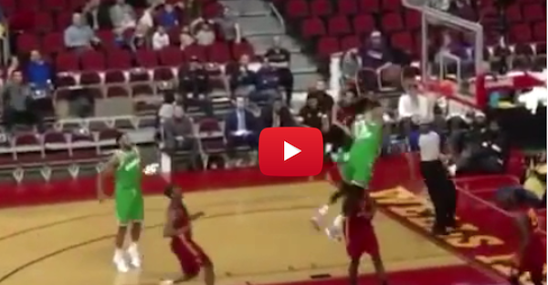 This D-Leaguer you've never heard of just threw down a nasty dunk