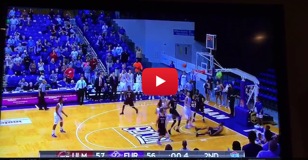 Furman gets first CIT win with amazing putback at the buzzer