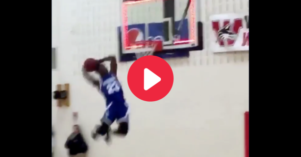 This Horrible Dunk Attempt Belongs in the Hall of Shame