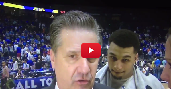 Jamal Murray gets best of Coach Cal with a good old fashioned videobomb