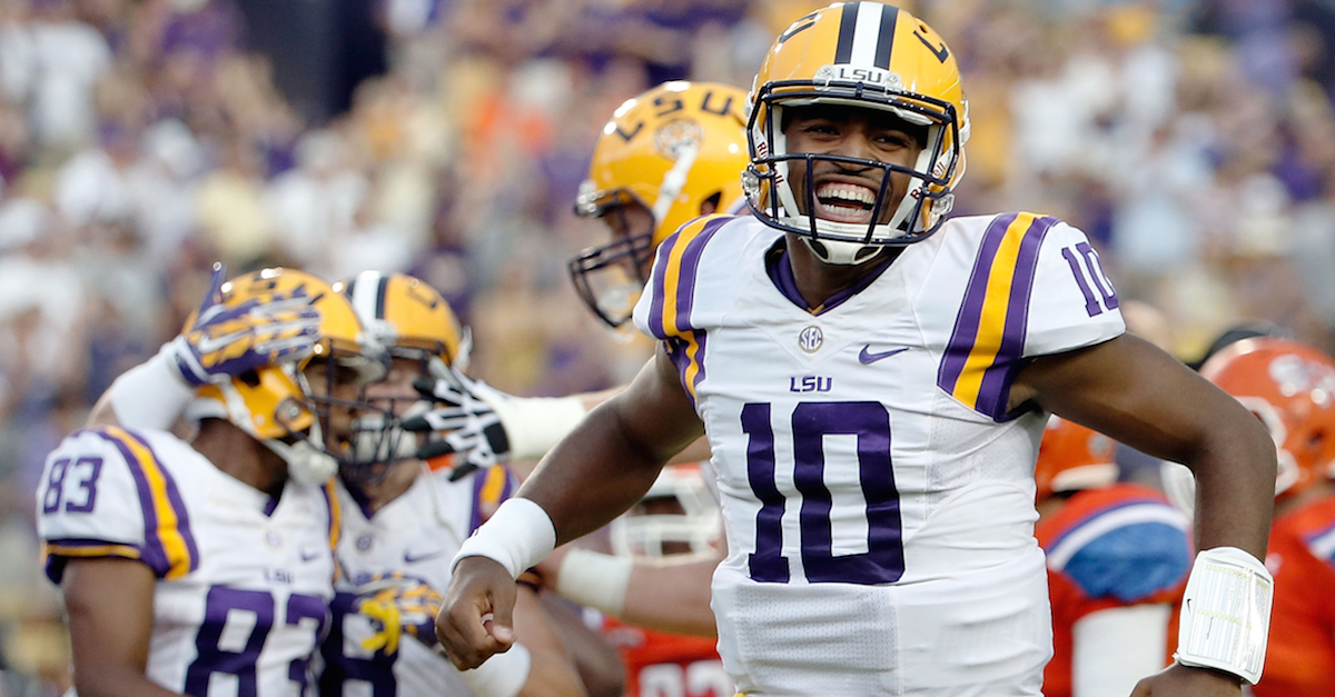 LSU will be without a quarterback option this fall with transfer annoucement