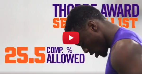 Mackensie Alexander is prepared for the NFL thanks to Clemson