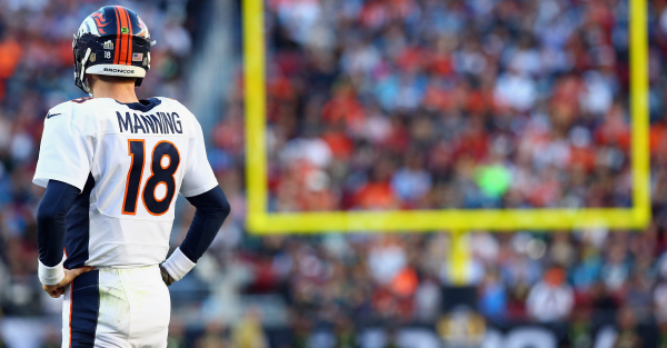 The Denver Broncos are clearly moving on from Manning if this report is true