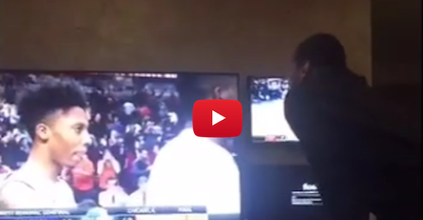 Melo screams DJ Khaled quotes at the TV when he watches Syracuse