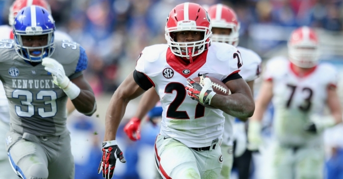 With Nick Chubb's return to the lineup, Georgia fans can get ready for much more of this