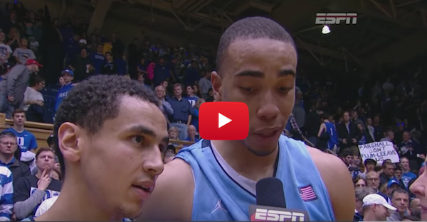 Marcus Paige and Brice Johnson talk big win over Duke