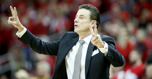 Rick Pitino has started playing the blame game with escort scandal