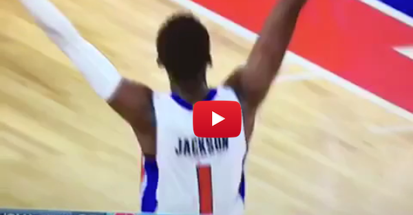 Reggie Jackson celebrates win over Thunder, Westbrook does not approve
