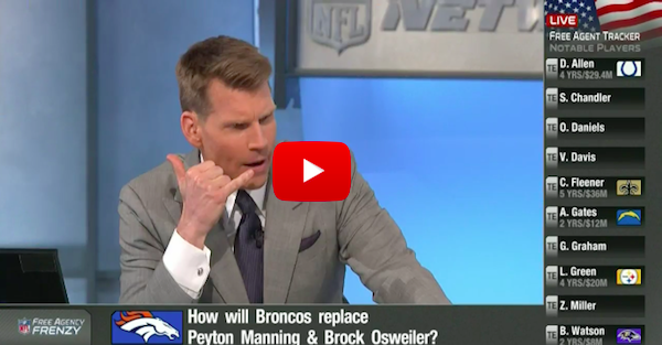 NFL Network host suggests the Broncos should call up Tim Tebow