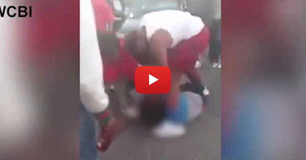 Video allegedly shows five-star DE recruit striking a woman multiple times