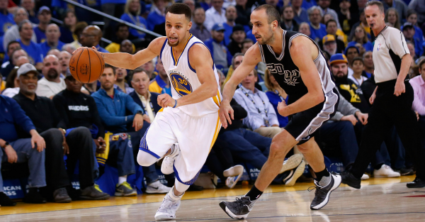 The Spurs-Warriors game is actually the biggest regular season matchup in NBA history