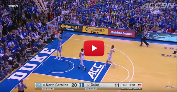 Relive the epic last UNC-Duke duel of the regular season