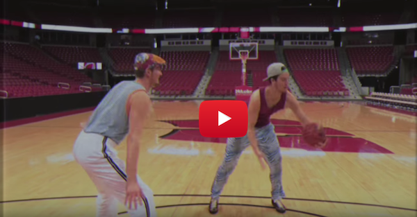 "Wisconsin walk-ons make epic ""Fresh Prince"" parody video for March Madness"