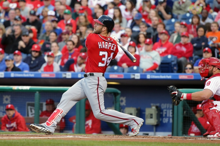 Bryce Harper is killing the best pitchers in the world, and he's making it look easy