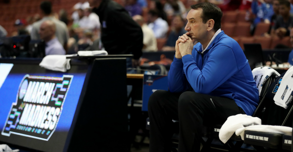 Coach K will be out of commission after surgery, but is already rehabbing