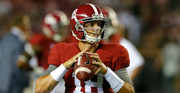 Alabama QB Cooper Bateman has reportedly enrolled at another school