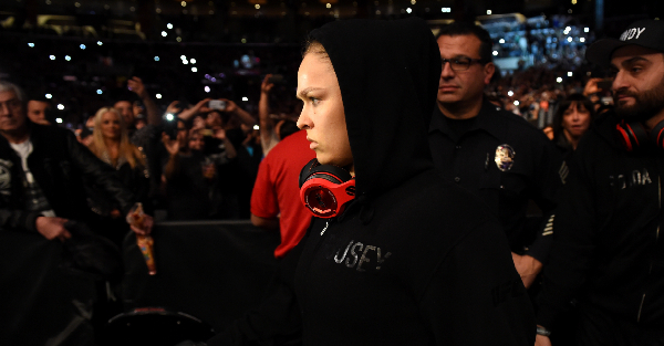 Ronda Rousey may have just dropped a huge hint about her UFC future