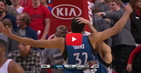 Karl-Anthony Towns upstages Lillard on game-winning shot