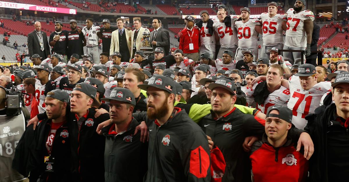 "Ohio State is finally a ""verified"" football power"