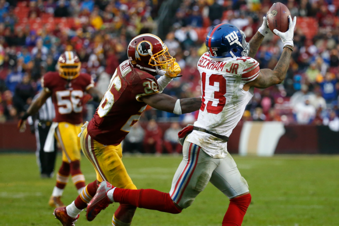 Redskins throw shade at OBJ and he responds in kind