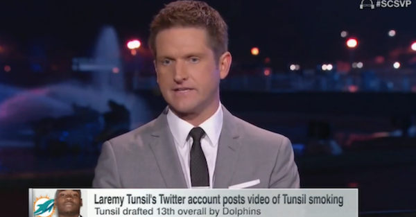 ESPN's Todd McShay had the worst response to Laremy Tunsil's awful night, and it isn't close