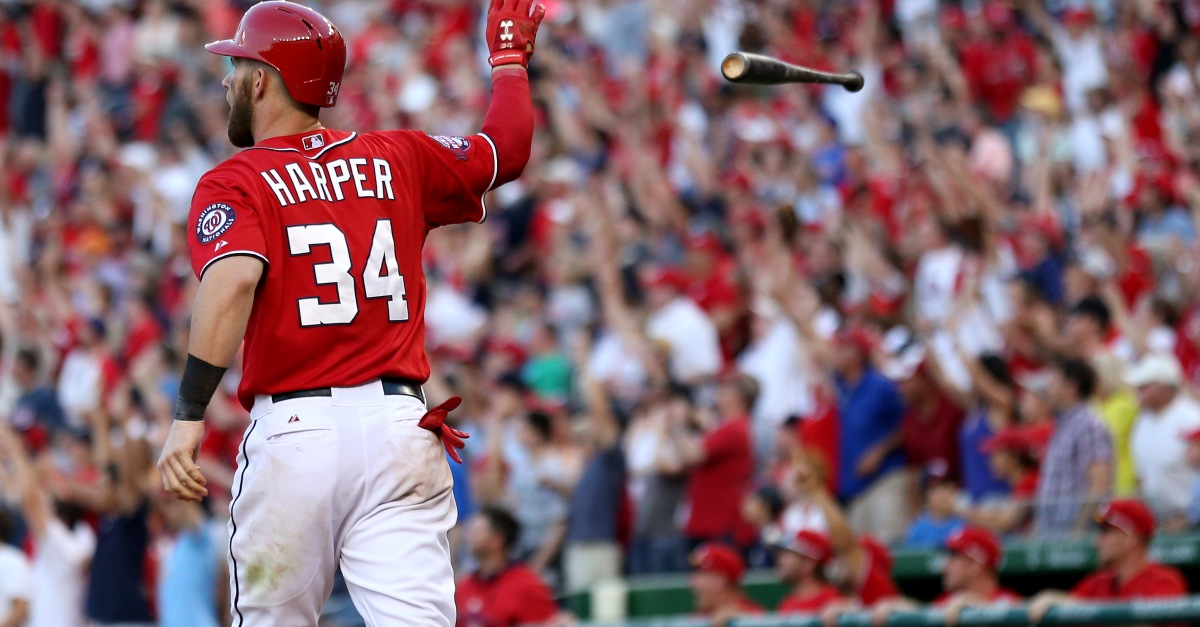 MLB reverses course on Bryce Harper's suspension stemming from Memorial Day brawl
