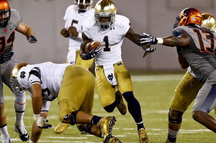 Former Notre Dame and current UAB RB Greg Bryant in critical condition