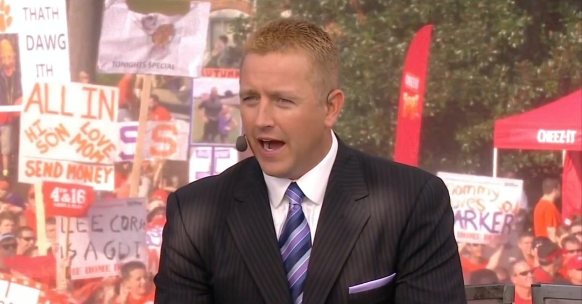 Kirk Herbstreit says one team other than Bama is guaranteed a playoff spot