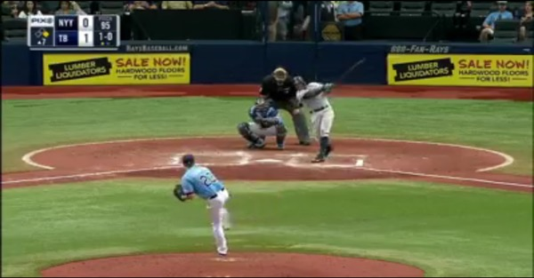 Starlin Castro shoves a dagger in the Rays' heart, twists the knife