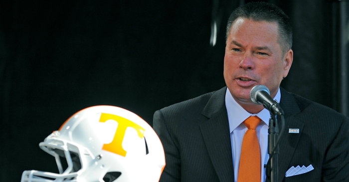 Butch Jones: 'If your game is loud you don't need to talk about it'