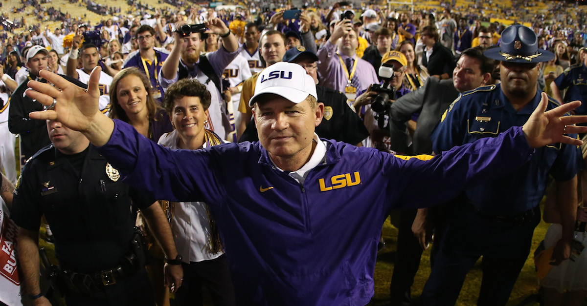 More emerges on Les Miles after rumored interest in another program